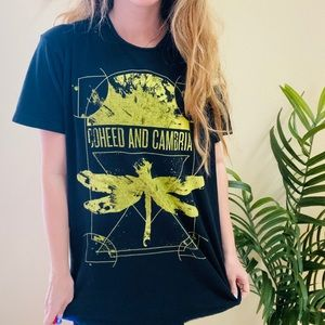 Coheed + Cambria Dragonfly Graphic Band Tee